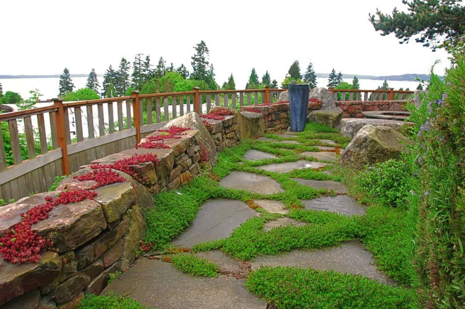 Garden Stone Pathway Ideas-07-1 Kindesign