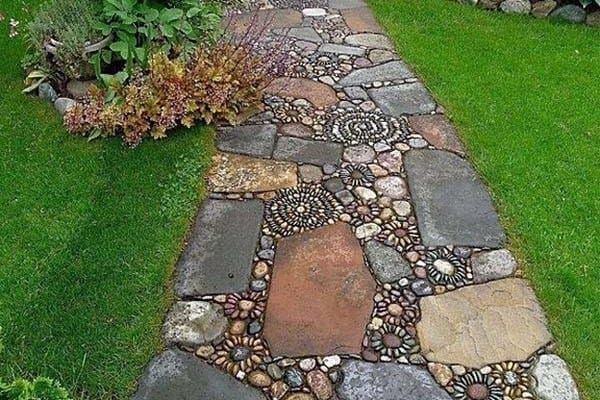 featured posts image for 40+ Brilliant ideas for stone pathways in your garden