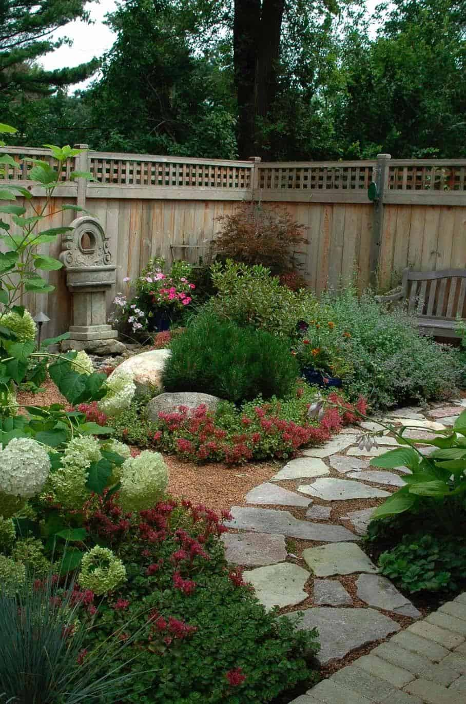 Garden Stone Pathway Ideas-30-1 Kindesign