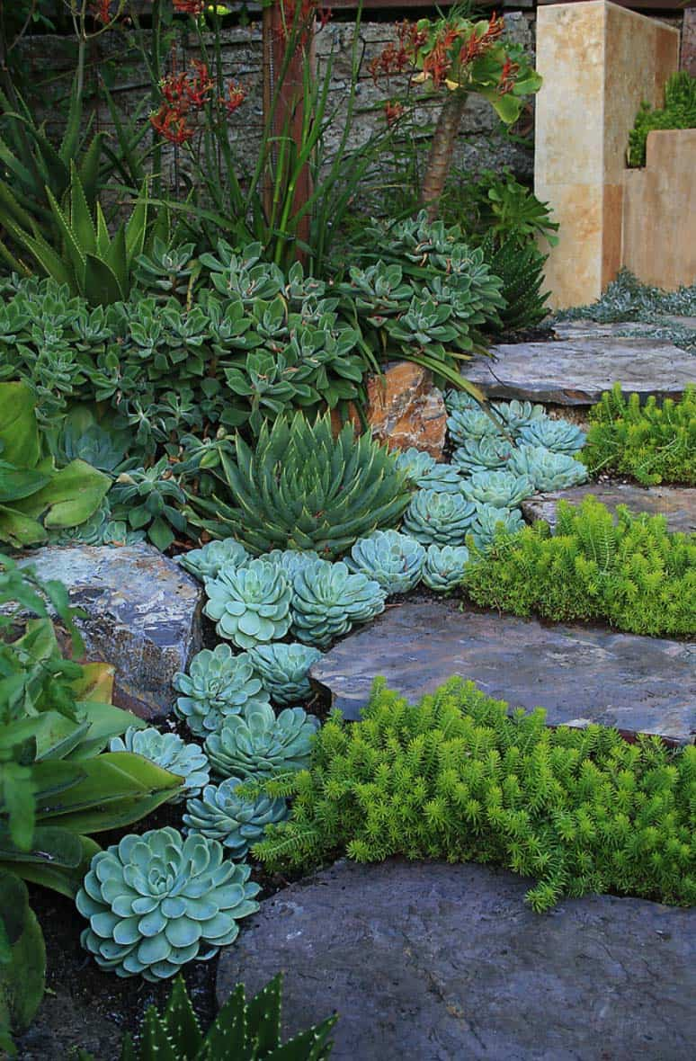 Garden Stone Pathway Ideas-33-1 Kindesign
