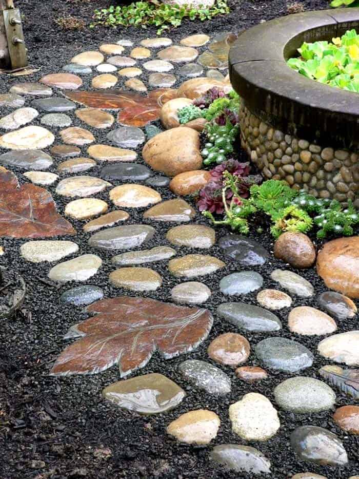Garden Stone Pathway Ideas-38-1 Kindesign
