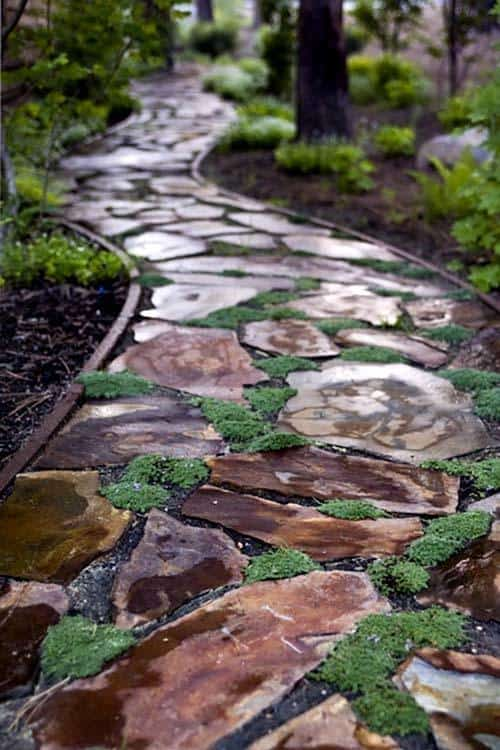 Garden Stone Pathway Ideas-41-1 Kindesign