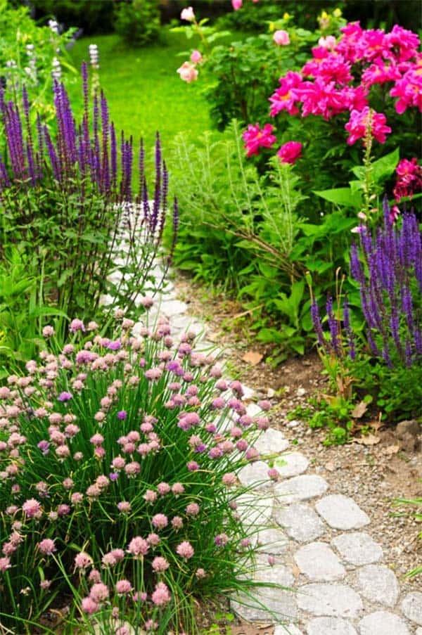 Garden Stone Pathway Ideas-44-1 Kindesign