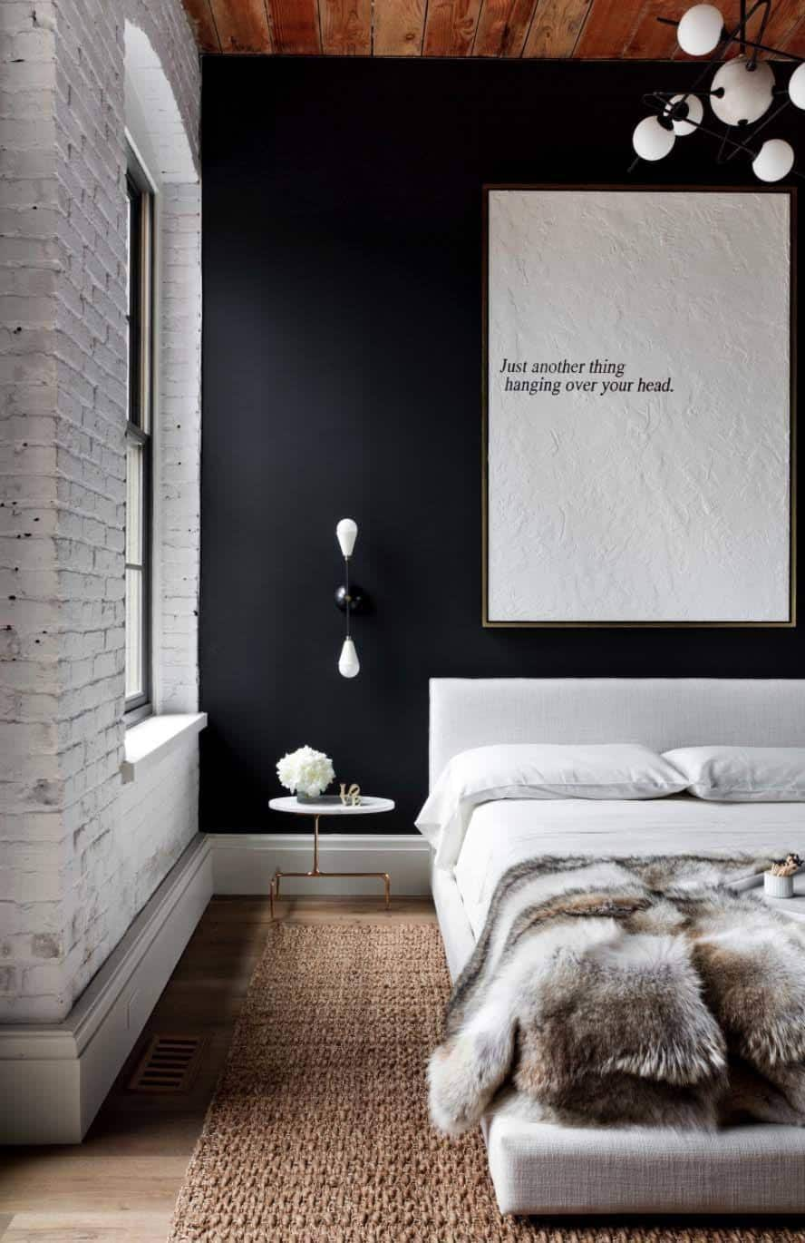 Industrial Style Bedroom Design Ideas-04-1 Kindesign & 35 Edgy industrial style bedrooms creating a statement