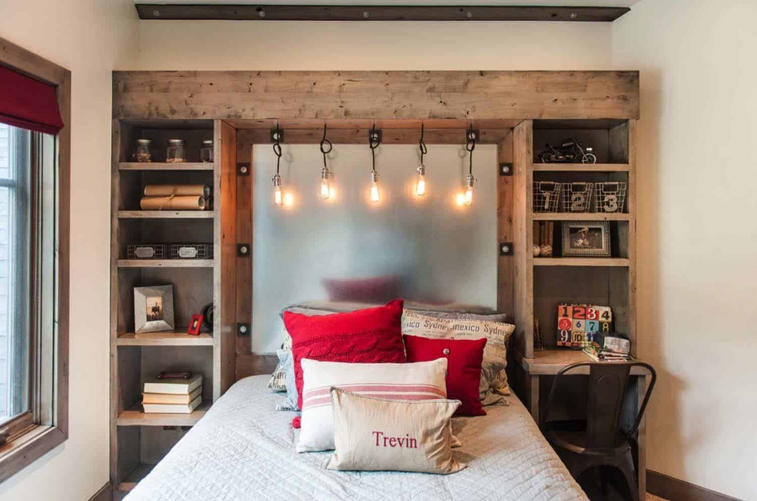 Industrial Style Bedroom Design Ideas-06-1 Kindesign