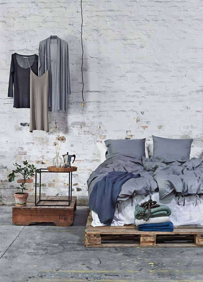 Industrial Style Bedroom Design Ideas-10-1 Kindesign