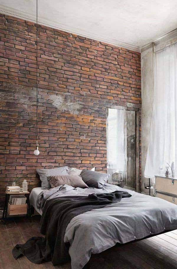 innovative industrial interior design bedroom ideas | 35 Edgy industrial style bedrooms creating a statement