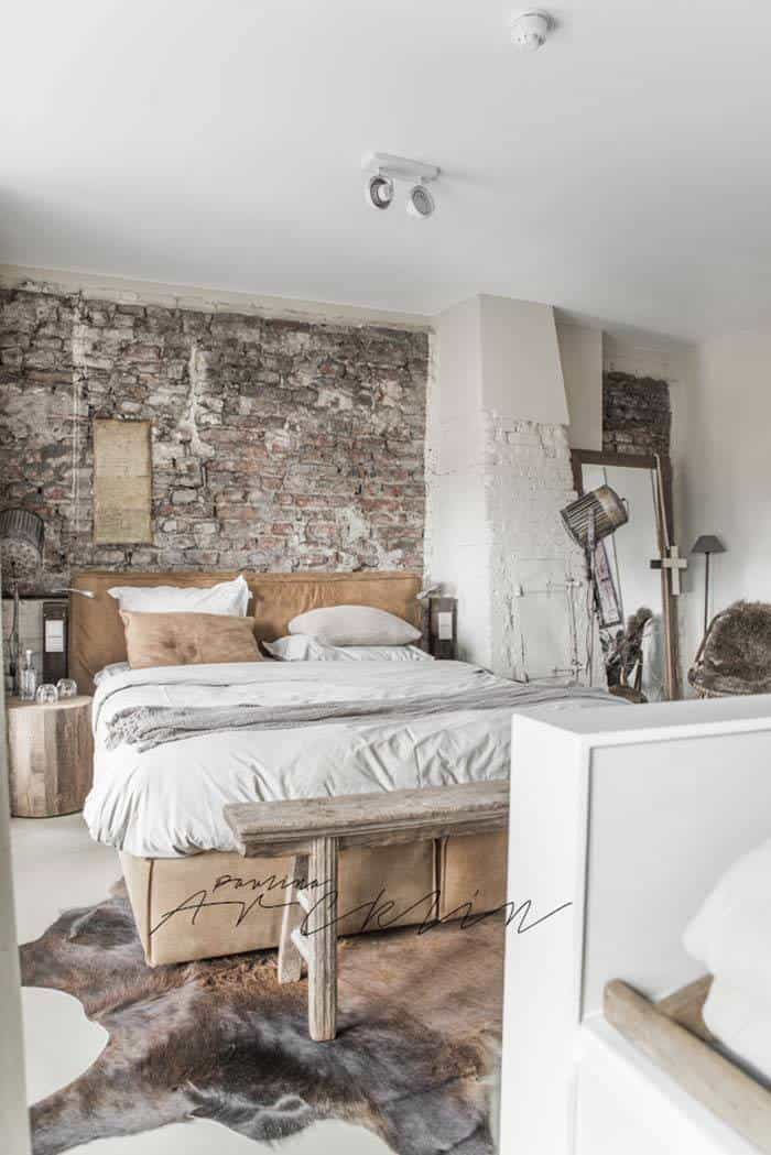 industrial style bedroom design ideas 13 1 kindesign - Bedroom Designs Ideas