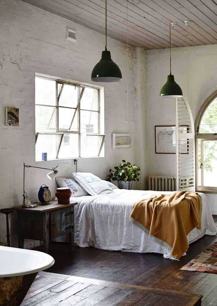 Industrial Style Bedroom Design Ideas-24-1 Kindesign
