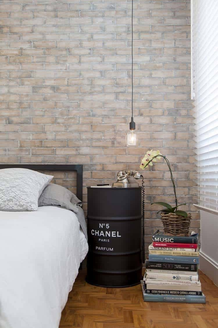 Industrial Style Bedroom Design Ideas-26-1 Kindesign
