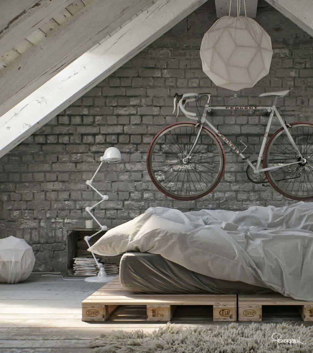 Industrial Style Bedroom Design Ideas-33-1 Kindesign