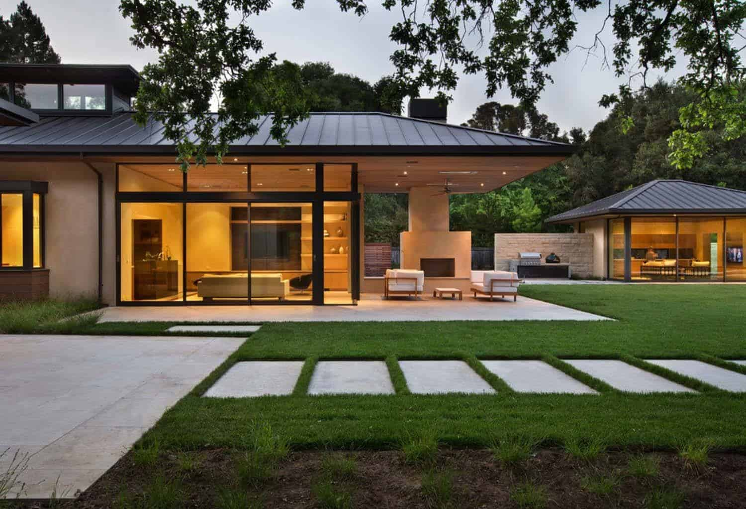 A Woodside home designed in perfect harmony with nature