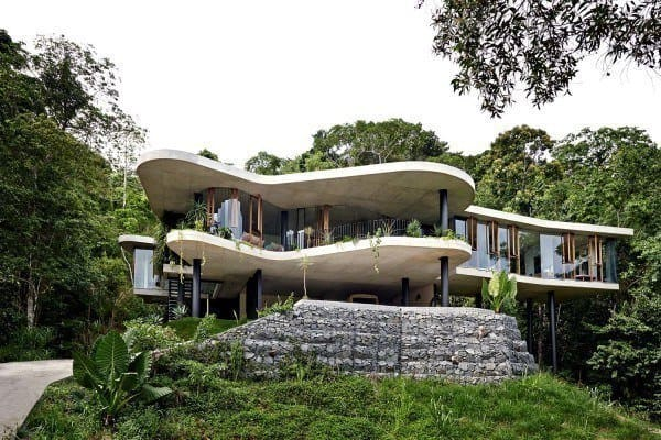 featured posts image for Amazing concrete pad immersed in Australian rainforest setting