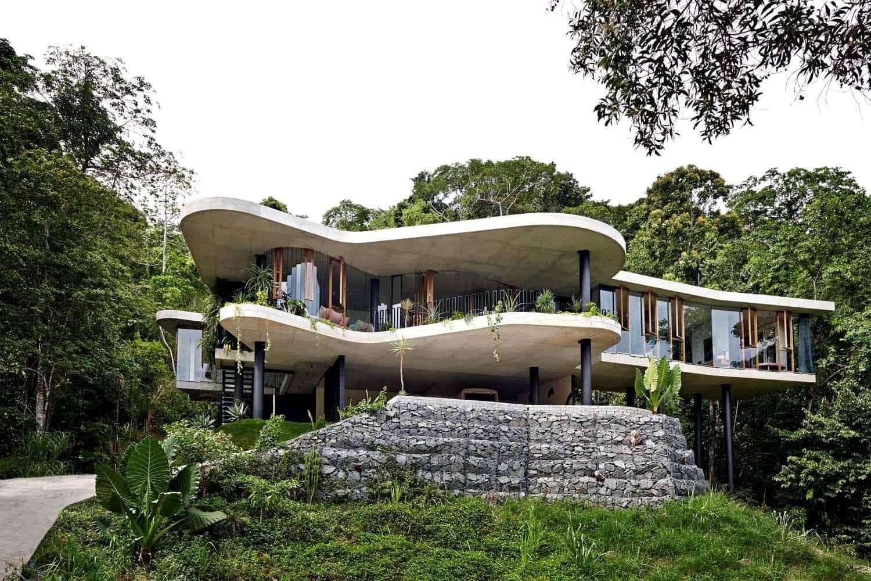 Modern Concrete House-Jesse Bennett-01-1 Kindesign