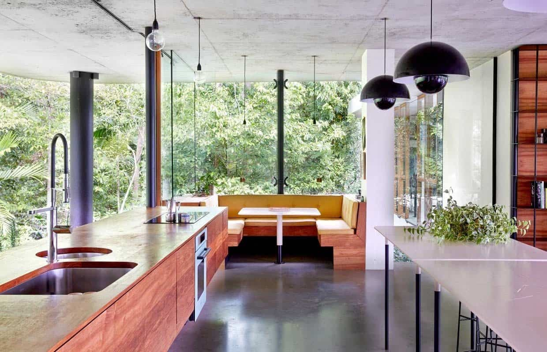 Modern Concrete House-Jesse Bennett-010-1 Kindesign