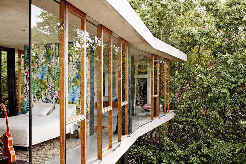 Modern Concrete House-Jesse Bennett-03-1 Kindesign