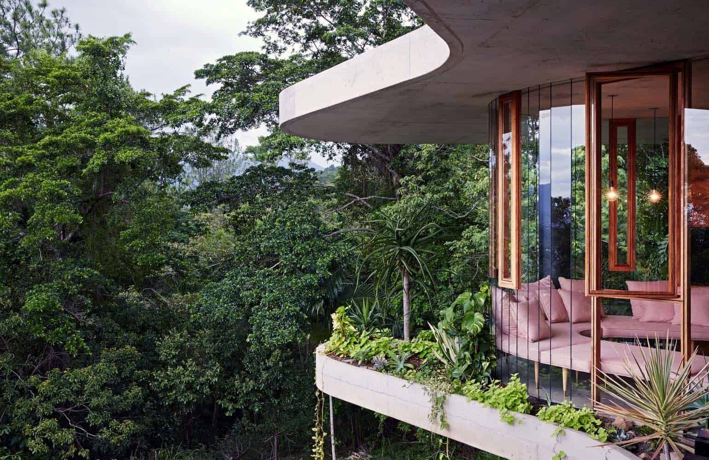 Modern Concrete House-Jesse Bennett-04-1 Kindesign