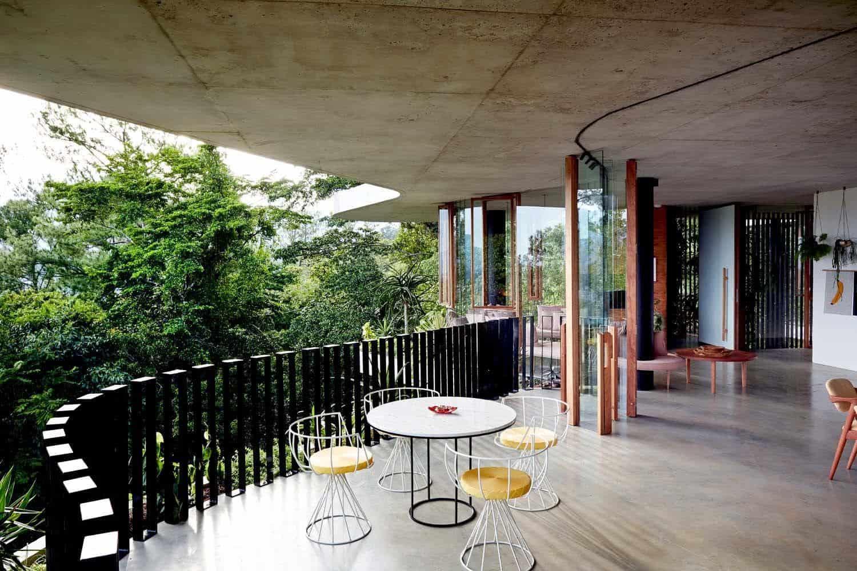 Modern Concrete House-Jesse Bennett-08-1 Kindesign