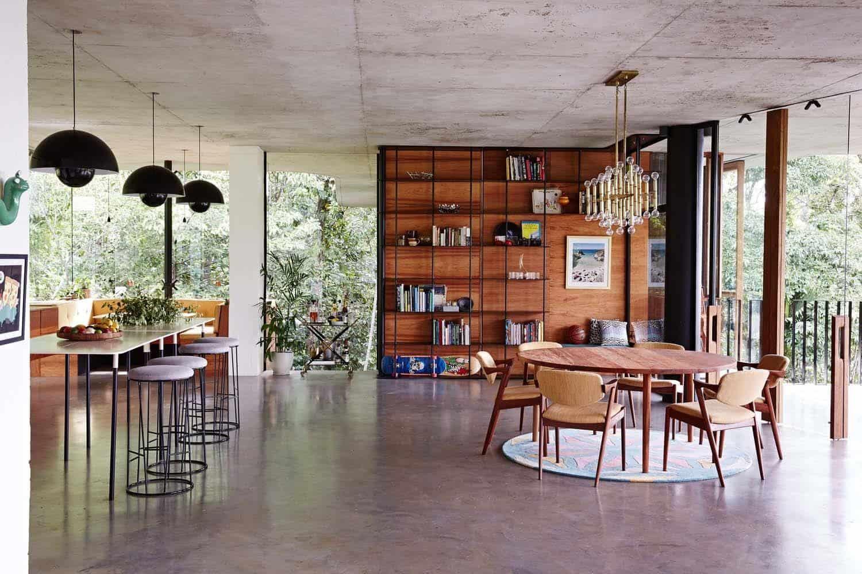 Modern Concrete House-Jesse Bennett-09-1 Kindesign