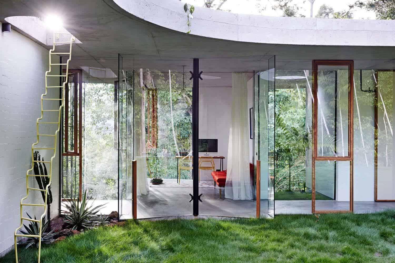 Modern Concrete House-Jesse Bennett-25-1 Kindesign