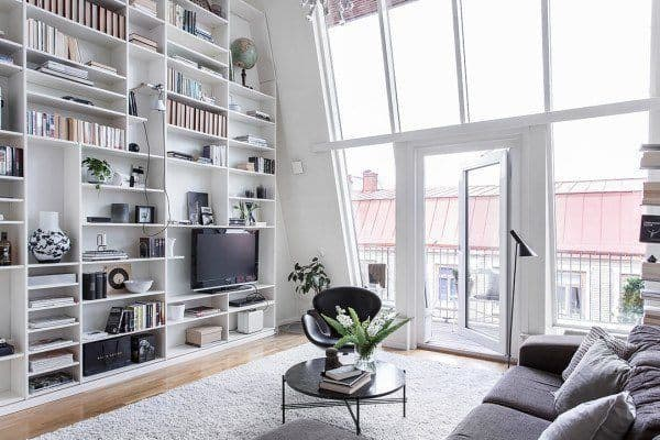 featured posts image for Modern duplex in Gothenburg with fabulous design features