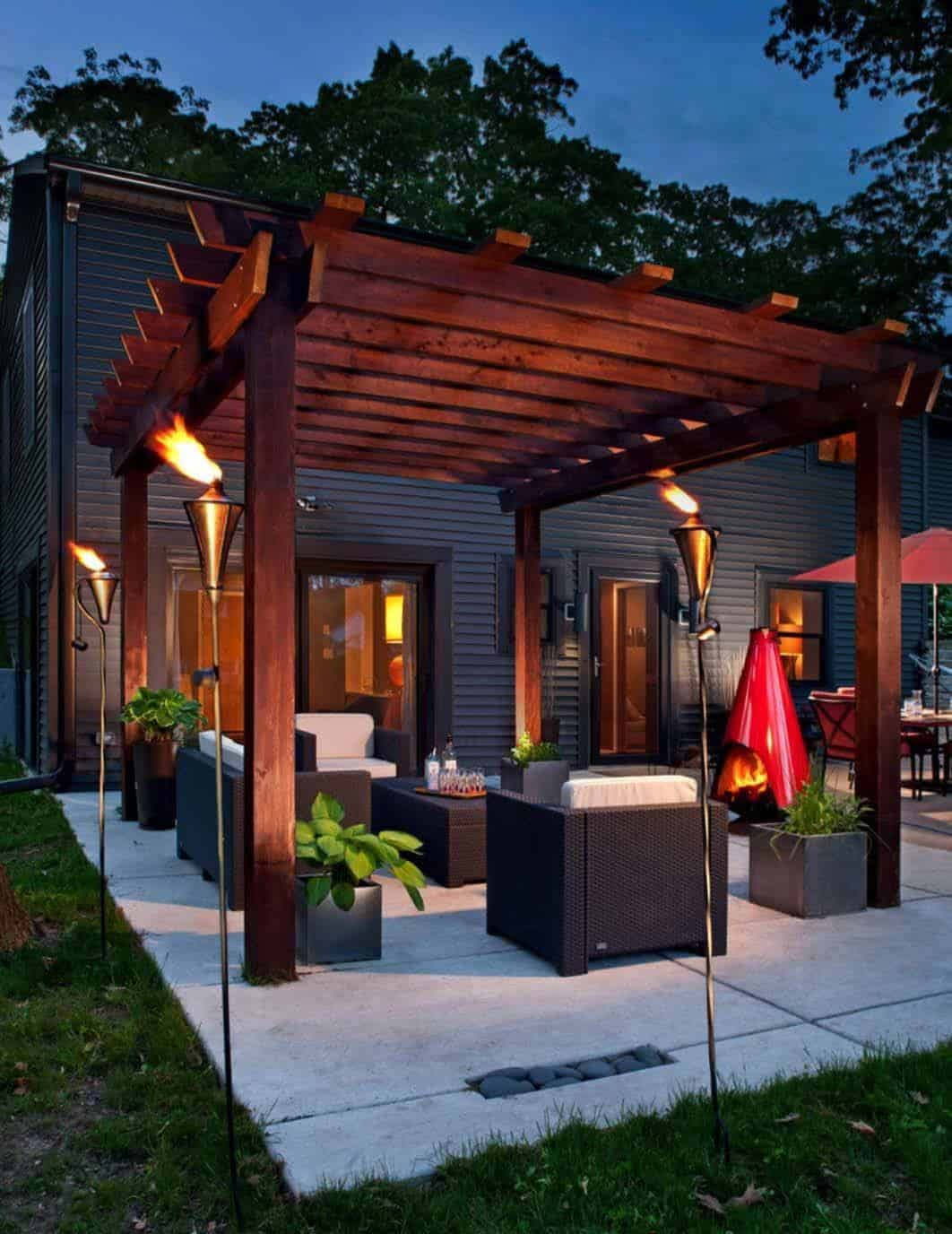 35 Modern outdoor patio designs that will blow your mind on House Backyard Deck id=48681
