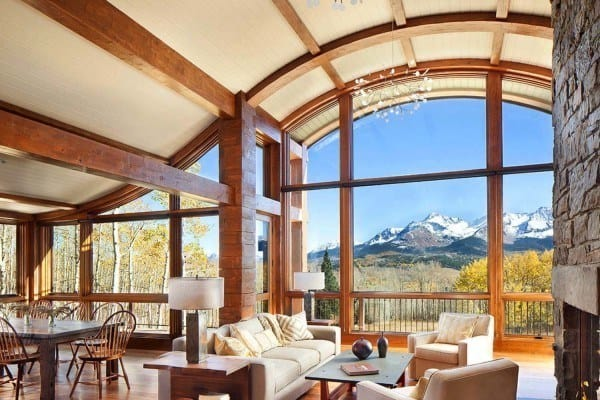 featured posts image for Colorado mountain cabin perfectly frames views of Mount Wilson