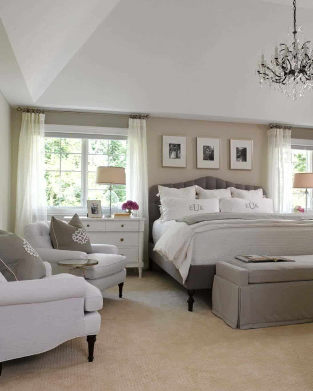 Bedroom Decorating Ideas: 35+ Spectacular Neutral Bedroom Schemes For Relaxation