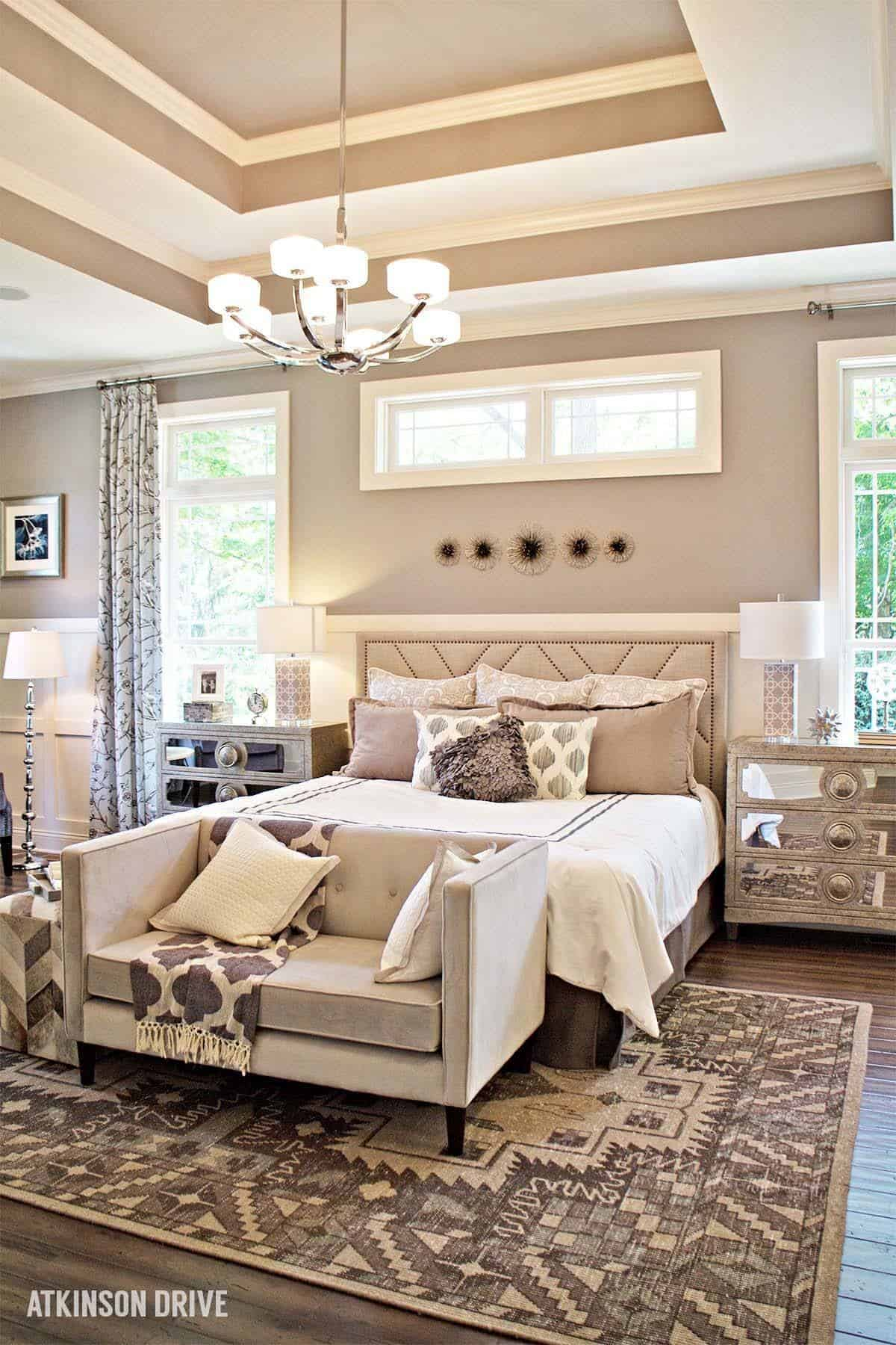 35 spectacular neutral bedroom schemes for relaxation for One bedroom design