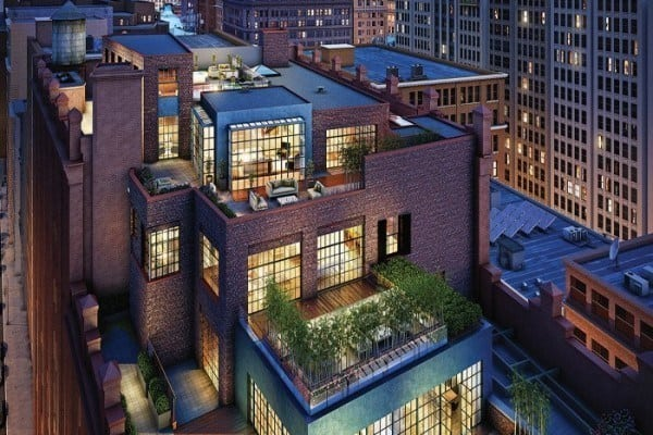 featured posts image for Amazing penthouse offering unbelievable Manhattan skyline views