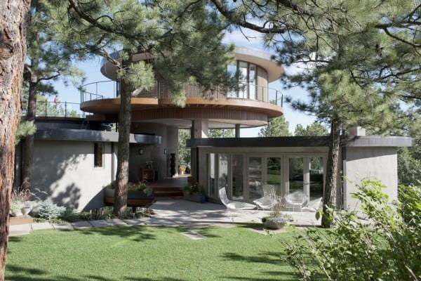 featured posts image for Extraordinary mid-century design in Colorado: Round House