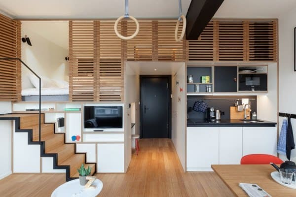 featured posts image for Amsterdam apartment designed to live and work: Zoku Loft