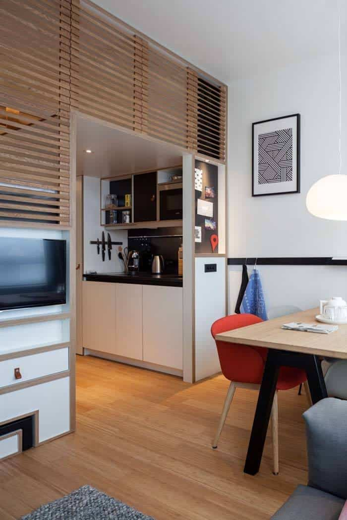 amsterdam apartment designed to live and work zoku loft