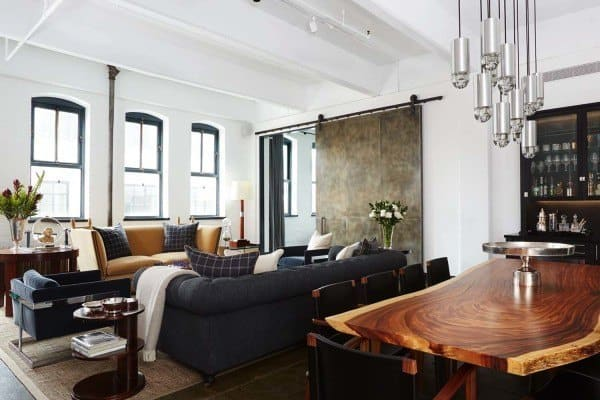 featured posts image for Warehouse loft conceived for a bachelor in New York City