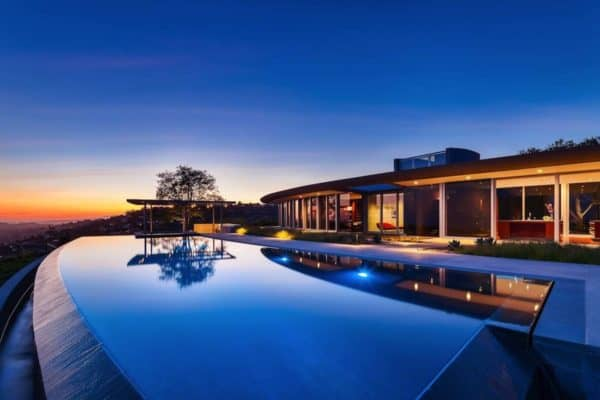 featured posts image for Modern concrete and glass dwelling in Santa Barbara