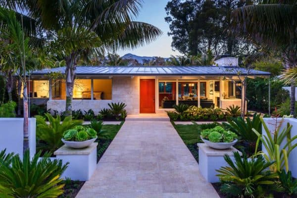 featured posts image for Artfully redesigned mid-century beach villa in Montecito