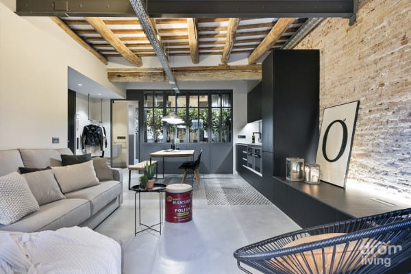 featured posts image for Stylish industrial loft in Barcelona features a greenhouse