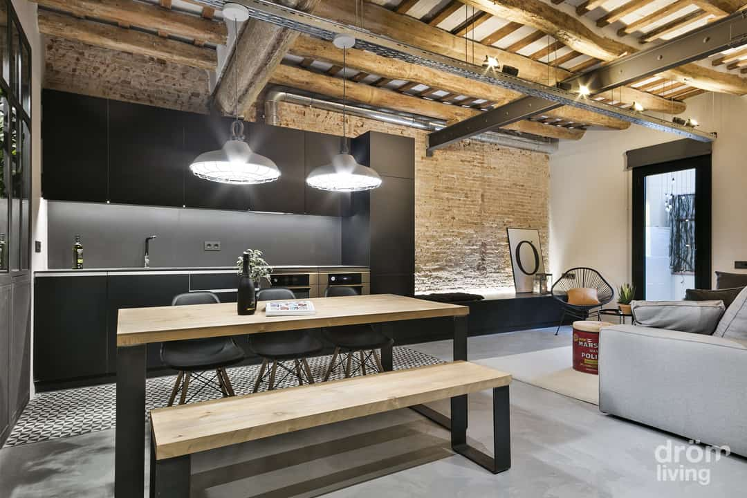 Industrial Apartment Design-Drom Living-03-1 Kindesign