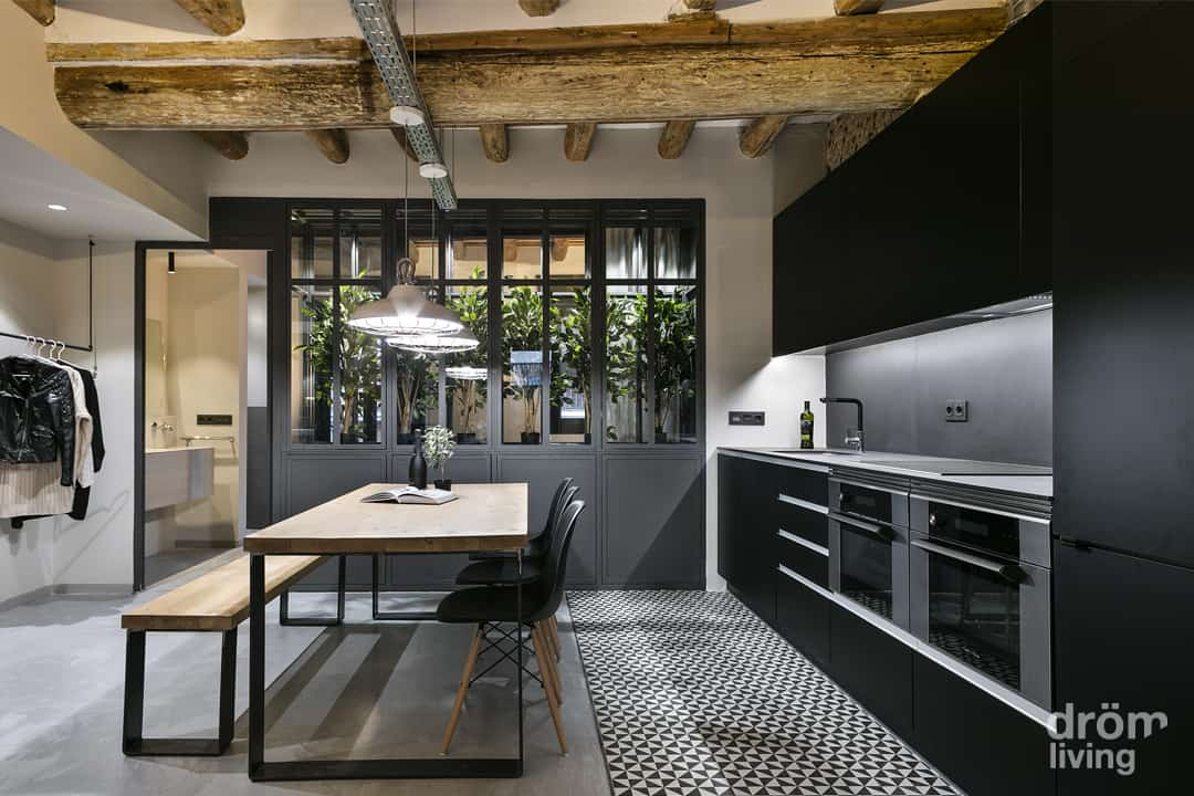 Industrial Apartment Design-Drom Living-04-1 Kindesign