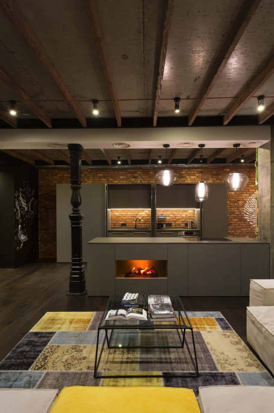 Industrial Loft-MARTIN Architects-06-1 Kindesign