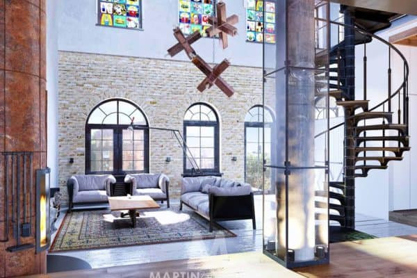 featured posts image for Industrial style loft in Kiev showcases impressive design