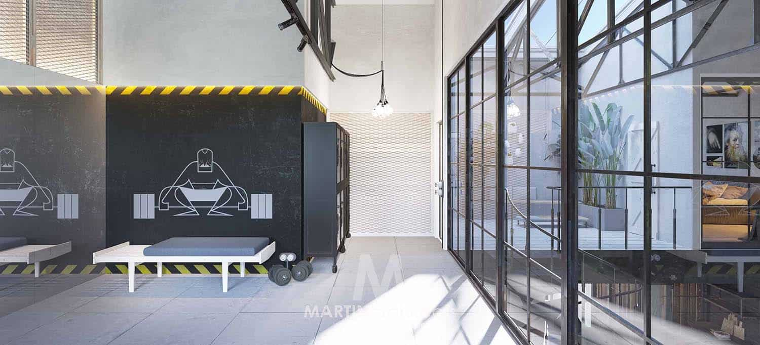 Industrial Loft-Martin Architects-31-1 Kindesign