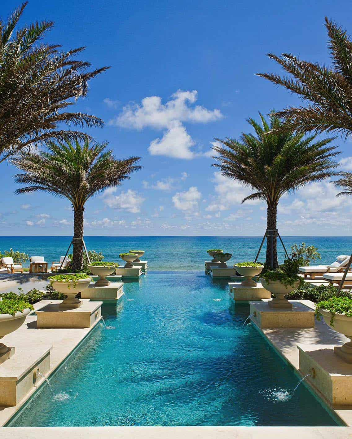40 absolutely spectacular infinity edge pools for Pool design 2016