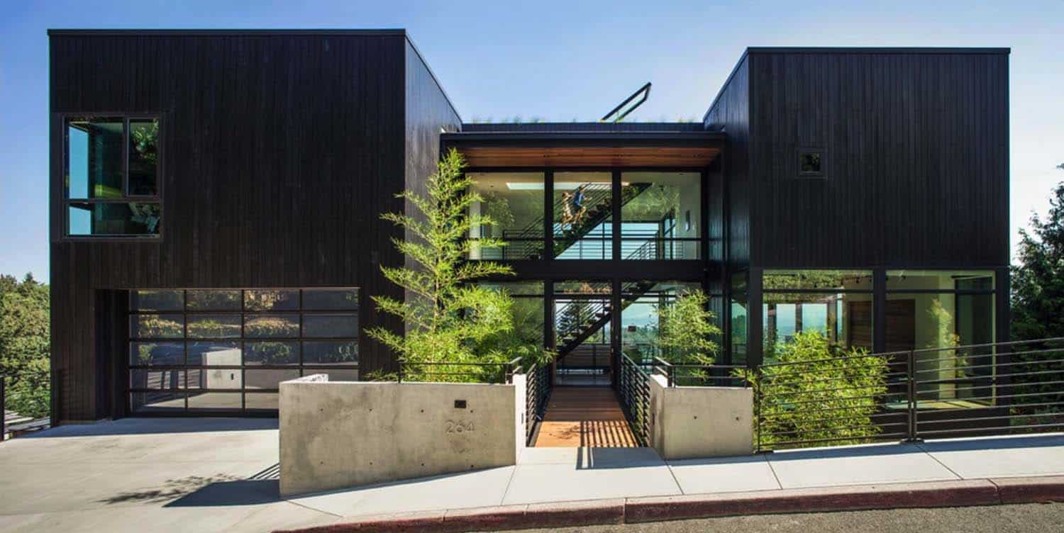 Multi Level Home Designed Around Music And Family In Portland