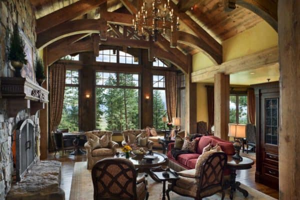 featured posts image for Fabulous rustic ranch home in Nevada by Locati Architects