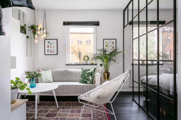 featured posts image for Delightfully stylish one-bedroom apartment in Stockholm