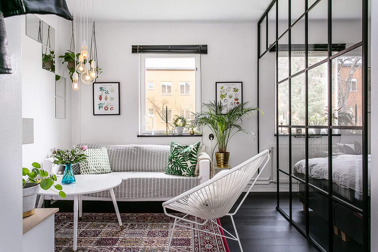 Delightfully stylish one-bedroom apartment in Stockholm