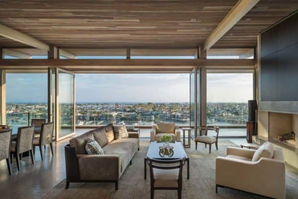 featured posts image for Contemporary blufftop dwelling overlooking Newport Harbor
