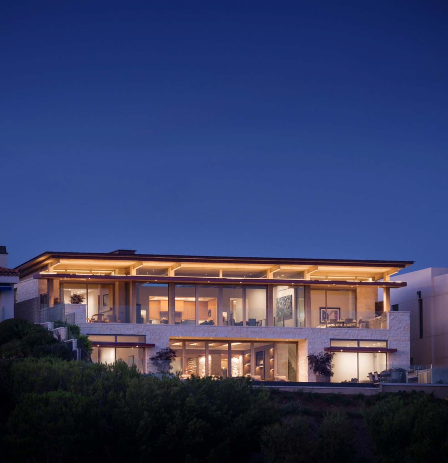 Contemporary Blufftop House-Graham Architecture-22-1 Kindesign