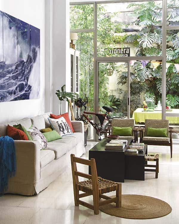Courtyard House Design-02-1 Kindesign